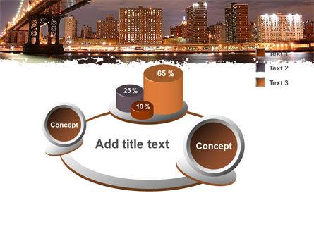 Manhattan Bridge PowerPoint Template Slide 6
