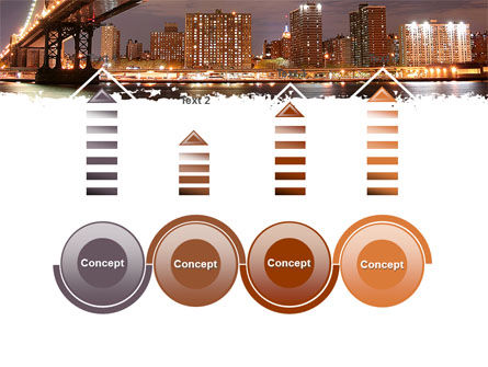 Manhattan Bridge PowerPoint Template Slide 7
