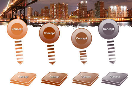 Manhattan Bridge PowerPoint Template Slide 8
