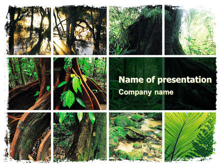 Nature & Environment: Jungle PowerPoint Template #05476