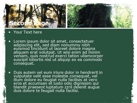 Jungle PowerPoint Template, Slide 2, 05476, Nature & Environment — PoweredTemplate.com