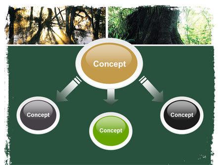 Jungle PowerPoint Template, Slide 4, 05476, Nature & Environment — PoweredTemplate.com