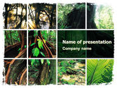Nature & Environment: Modèle PowerPoint de jungle #05476