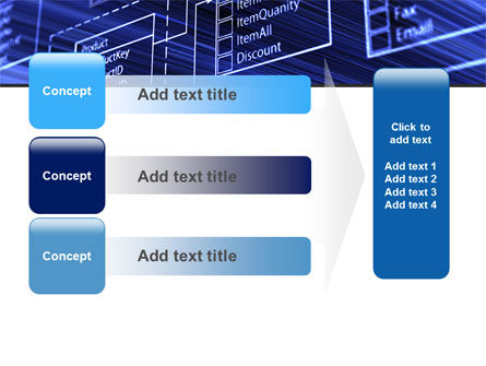 Database Structure PowerPoint Template Slide 12