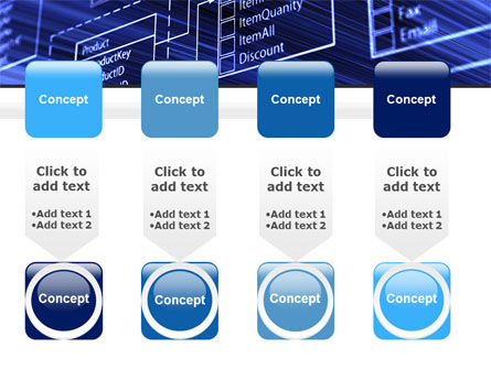 Database Structure PowerPoint Template Slide 18