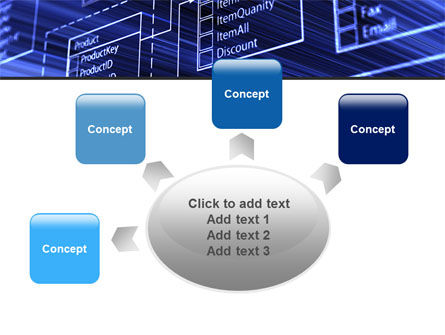 Database Structure PowerPoint Template Slide 7