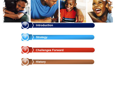 Happy Afroamerican Family PowerPoint Template, Slide 3, 05485, People — PoweredTemplate.com