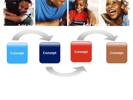Happy Afroamerican Family PowerPoint Template, Slide 4, 05485, People — PoweredTemplate.com