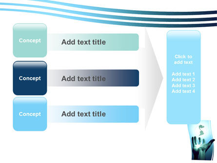 Reaching the World PowerPoint Template Slide 12