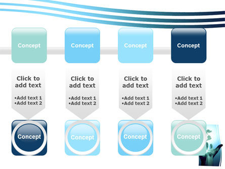 Reaching the World PowerPoint Template Slide 18