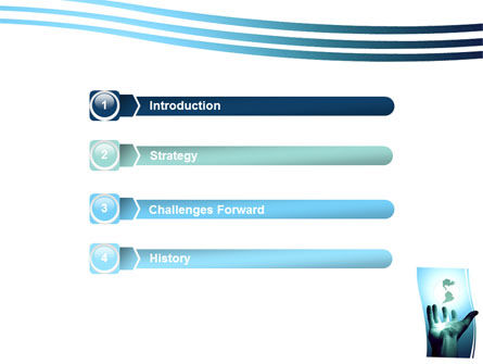 Reaching the World PowerPoint Template Slide 3
