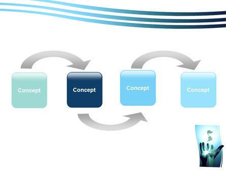 Reaching the World PowerPoint Template, Slide 4, 05486, Global — PoweredTemplate.com