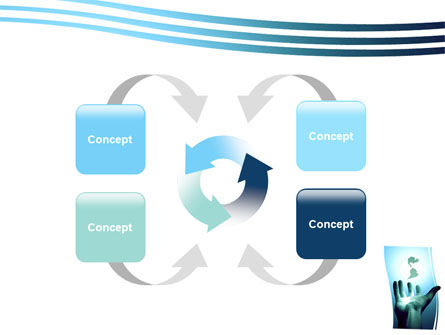 Reaching the World PowerPoint Template Slide 6