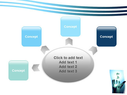 Reaching the World PowerPoint Template Slide 7