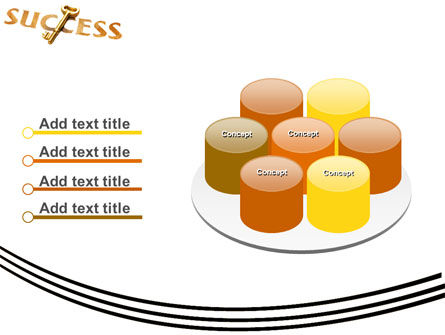 Key to Success PowerPoint Template Slide 12
