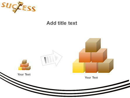 Key to Success PowerPoint Template Slide 13