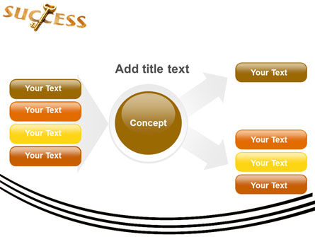 Key to Success PowerPoint Template Slide 15