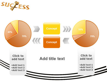 Key to Success PowerPoint Template Slide 16
