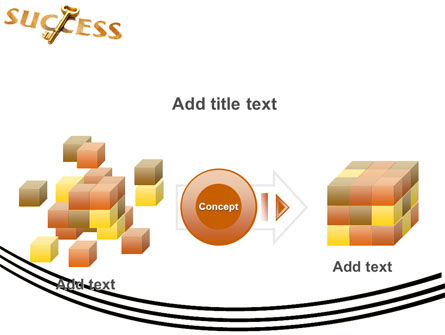 Key to Success PowerPoint Template Slide 17