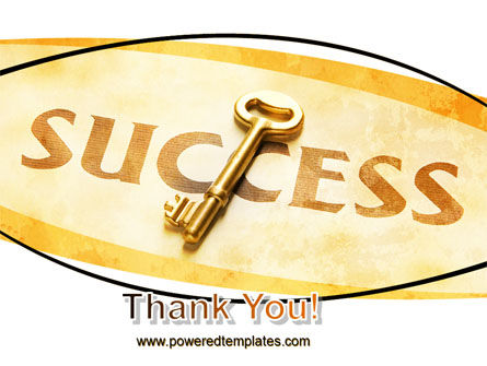 Key to Success PowerPoint Template Slide 20