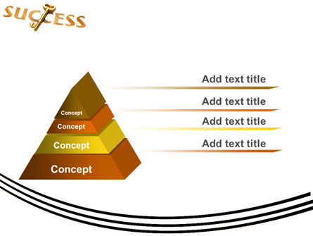 Key to Success PowerPoint Template, Slide 4, 05487, Business Concepts — PoweredTemplate.com