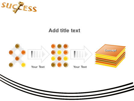 Key to Success PowerPoint Template Slide 9