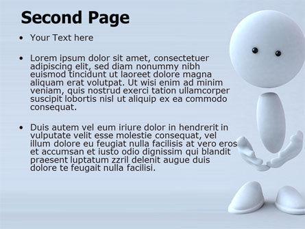 3D Human Model PowerPoint Template, Slide 2, 05489, 3D — PoweredTemplate.com