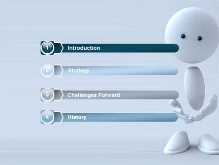 3D Human Model PowerPoint Template, Slide 3, 05489, 3D — PoweredTemplate.com