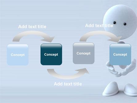 3D Human Model PowerPoint Template, Slide 4, 05489, 3D — PoweredTemplate.com