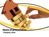Financial/Accounting: Modèle PowerPoint de logement #05491
