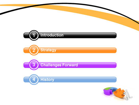 Matching Piece PowerPoint Template Slide 3
