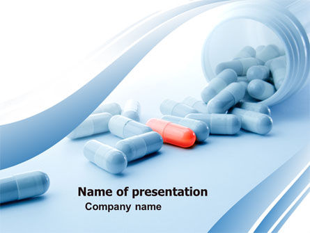 Drug Therapy PowerPoint Template, 05497, Medical — PoweredTemplate.com