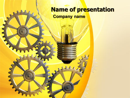 Working Idea PowerPoint Template, 05498, Consulting — PoweredTemplate.com