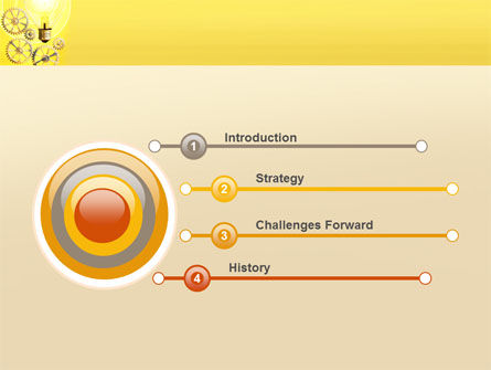 Working Idea PowerPoint Template, Slide 3, 05498, Consulting — PoweredTemplate.com