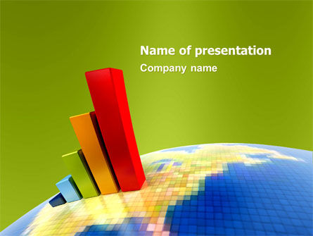Business Concepts: Modello PowerPoint - Indici economici #05500