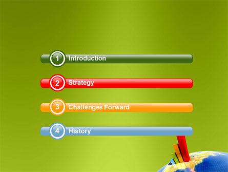 Economic Indexes PowerPoint Template, Slide 3, 05500, Business Concepts — PoweredTemplate.com