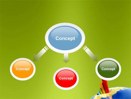 Economic Indexes PowerPoint Template, Slide 4, 05500, Business Concepts — PoweredTemplate.com