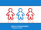 Business Concepts: Social Interaction PowerPoint Template #05502