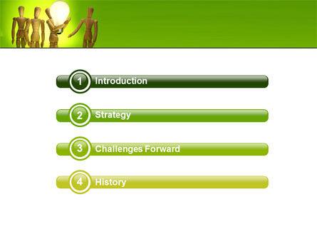 Resolve PowerPoint Template, Slide 3, 05504, Business Concepts — PoweredTemplate.com
