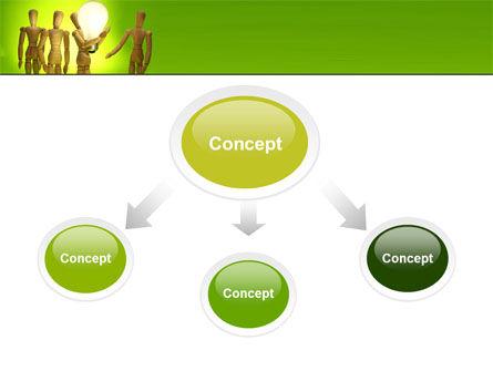 Resolve PowerPoint Template, Slide 4, 05504, Business Concepts — PoweredTemplate.com