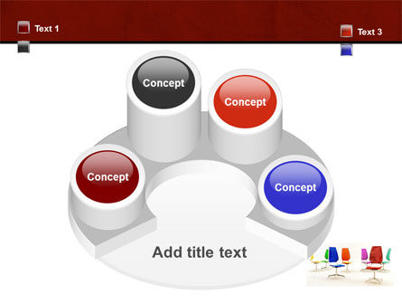Chairs PowerPoint Template Slide 12