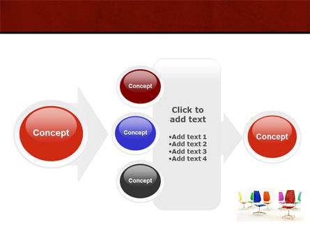 Chairs PowerPoint Template Slide 17