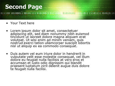 Information Galaxy PowerPoint Template, Slide 2, 05514, Technology and Science — PoweredTemplate.com