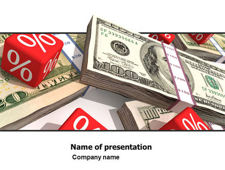 Financial/Accounting: Dollars Investment PowerPoint Template #05515