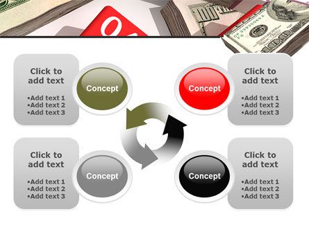Dollars Investment PowerPoint Template Slide 9