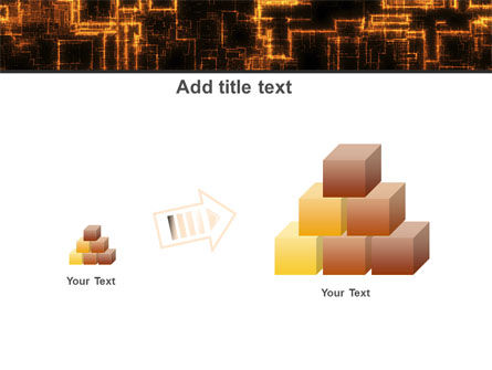 Rust Pattern PowerPoint Template Slide 13