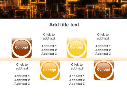 Rust Pattern PowerPoint Template Slide 18