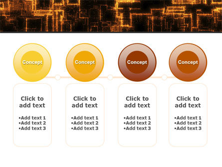 Rust Pattern PowerPoint Template Slide 5