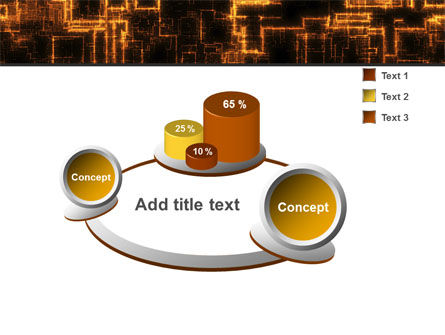 Rust Pattern PowerPoint Template Slide 6