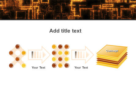 Rust Pattern PowerPoint Template Slide 9